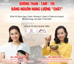 TALKSHOW MANDALA CAFÉ THÁNG 04/2021: DƯỠNG THÂN – TÂM – TRÍ BẰNG NGUỒN NĂNG LƯỢNG CHẤT