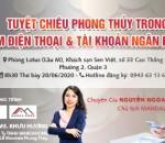 TALKSHOW MANDALA CAFÉ THÁNG 06/2020: TUYỆT CHIÊU PHONG THỦY TRONG SIM ĐIỆN THOẠI & TÀI KHOẢN NGÂN HÀNG