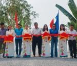 KHÁNH THÀNH CẦU ĐƯỜNG GẠO - Nối liền hai xã Bình Tấn và Gáo Giồng của huyện Thanh Bình và huyện Cao Lãnh, tỉnh Đồng Tháp.