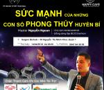 Talkshow - SỨC MẠNH CỦA NHỮNG CON SỐ PHONG THỦY HUYỀN BÍ 14/04/2018