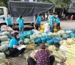 13 Chuyến hàng Yêu Thương với hơn 80 Tấn hàng Rau Củ Quả và nhu Yếu phẩm đã được trao cho Bà con khó khăn tại TP. HCM