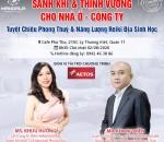 Talkshow SANH KHÍ & THỊNH VƯỢNG CHO NHÀ Ở & CÔNG TY